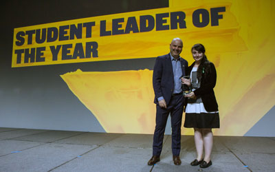 Edwards student recognized as Canadian Student Leader of the Year